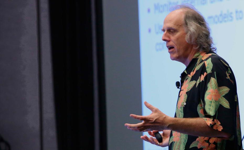 Stephen Brobst, CTO von Teradata, bringt komplexe IT-Themen mit Anekdoten auf den Punkt.